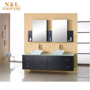 Modern Home Furniture Solid Wood Bathroom Cabinet pictures & photos