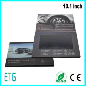 High Quality Brochure Display Stand 10.1inch LCD Video Booklet pictures & photos