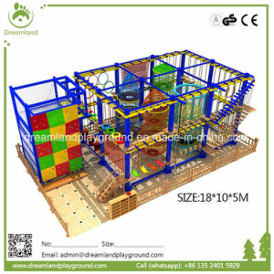 Adventure Play Ground Equipment Indoor Developing Rope Course for Sale pictures & photos