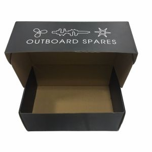 New Strong Quality Hot Sale Folding Black Packaging Box pictures & photos