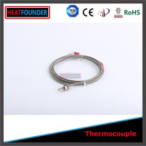 Fiberglass Type J Thermocouple with Extension Wire pictures & photos