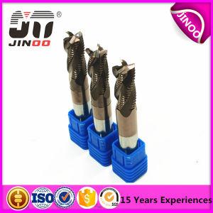 Carbide Tools 4 Flutes HRC55 Carbide CNC Milling Cutter Gold Coating pictures & photos