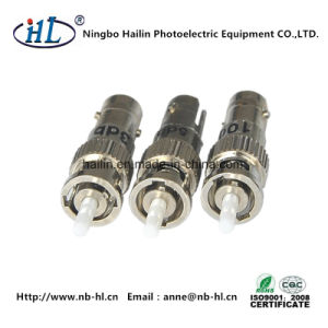 St Female-Male Type Attenuator Use in Optical Fiber Transmitting Circuit pictures & photos