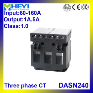 3 Phase Current Transformer Dasn240 60/5 - 200/5 Class 0.5 Three Phase CT 3 in 1 Current Transformers pictures & photos