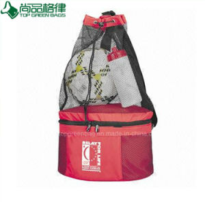 Hot Convenient Multi Compartments Drawstring Sport Fitness Cooler Bag pictures & photos
