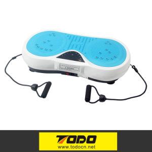 Mini Crazy Fit Full Body Vibration Thin Platform Massage Machine Fitness 200W pictures & photos