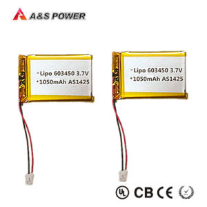 UL Approval 603450 3.7V 1100mAh Lipo Battery for E-Toys pictures & photos