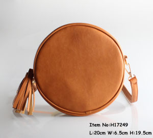 Round Shape Cross Handbags for Women pictures & photos