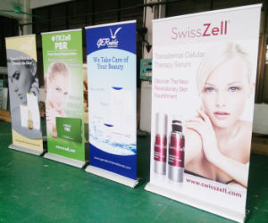 Teardrop Base Single Side Roller Banner Stand, Pullup Banner, Roll up Display (SR-05-S) pictures & photos