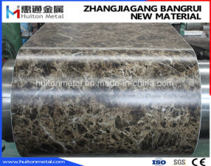 Printed Steel Coil with Marble Pattern pictures & photos