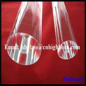 High Purity Clear Quartz Rod Supplier pictures & photos