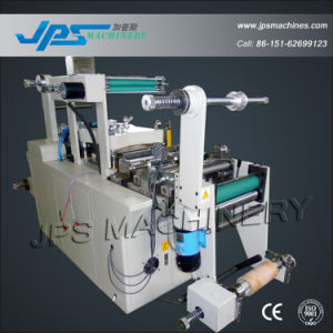 Blank Label Die Cutter Machine with Punching + Hot Stamping pictures & photos