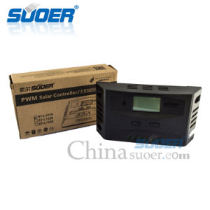 Suoer 2017 New 12V 24V 10A PWM Solar Charge Regulator Solar Controller pictures & photos