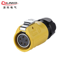 Cnlinko IP67 5pin Power Application for LED Scree waterproof Connector pictures & photos