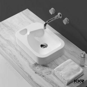 Small European Style Resin Bathroom Washbasin pictures & photos