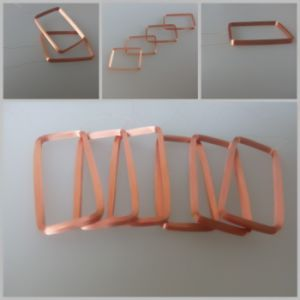 125kHz-13.56MHz RFID Card Copper Antenna Making pictures & photos