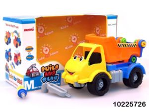 Educational Promotion Gift Toy DIY Plastic Truck Car Toys with En71 (10225727) pictures & photos