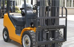 XCMG 1.5 Ton Gasoline Fork Lift Gas Forklift LPG Forklift with Container Mast and Side Shift pictures & photos