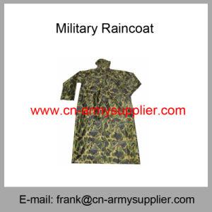 Camouflage Raincoat-Army Raincoat-Police Raincoat-Military Raincoat pictures & photos