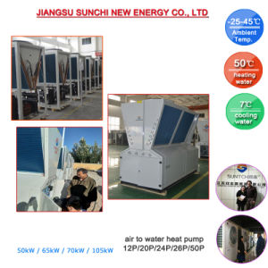 55kw 65kw Industrial Air Cooled Water Chiller Unit pictures & photos