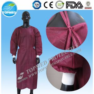 Good Price with Competitive Quality Disposabel Nonwoven Isolation Gown pictures & photos