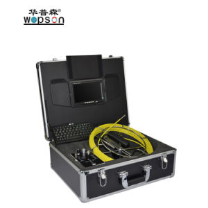Wopson Sewer Pipe Inspection Camera with Fiberglass Reel pictures & photos