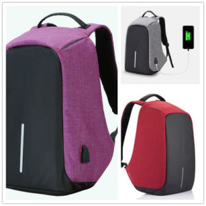 Anti-Theft Backpack Bag with USB, Laptop Bag Mochila USB Bag School Bag pictures & photos
