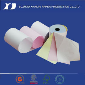 Hotest 2-Ply 7575 Carbonless Paper Roll pictures & photos