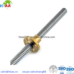 Custom CNC Machining Stainess Steel Lead Screw pictures & photos