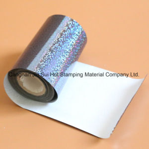 Hot Stamping Gold Aluminum Holographic Foil for The Bottle of Perfume pictures & photos