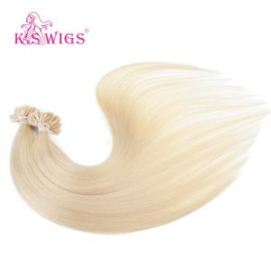 High Quality U-Tip Nail Hair Pre-Bonded Human Hair Extension pictures & photos