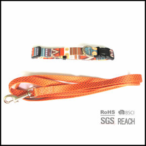 Pet Supply Products Heat-Transfer Printing Polyester Dog Leash pictures & photos