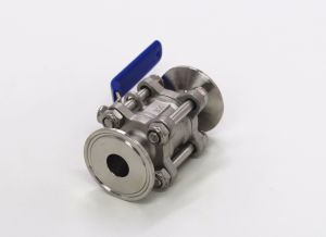 Sanitary Stainless Steel Encapsulated Seal Ball Valve pictures & photos