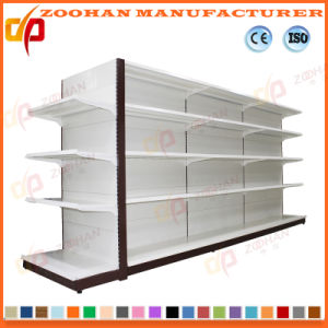 High Quality Gondola Double Sides Display Store Shelf (ZHs660) pictures & photos