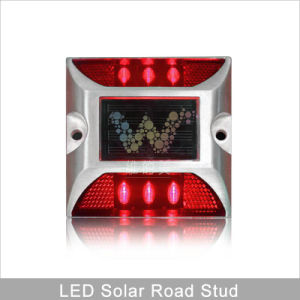Ce Approved Yellow LED Flashing 3m Reflector Solar Power Road Stud pictures & photos