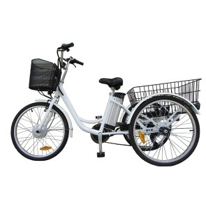 "26"" Tire 48V 10ah 250W -500W Electric Tricycle Pedal 1: 1 Assist Bicycle pictures & photos"