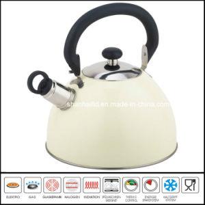 2.0L 2.5L Color Whistle Kettle pictures & photos