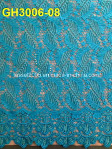 100%Polyester Chemical Products China Wholesale Cord Lace Fabric pictures & photos