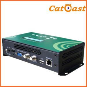 Mini HD H. 264 Encoder Modulator with HDMI/AV/YPbPr Input
