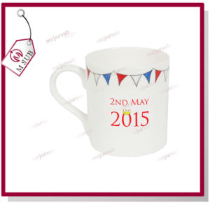 10oz Sublimation Bone China Balmoral Mug with Custom Logo pictures & photos