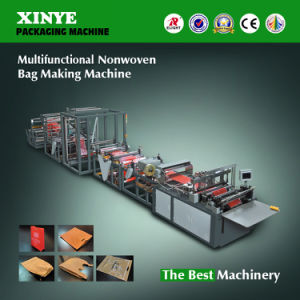 Multifuctional Nonwoven Bag Making Machine pictures & photos