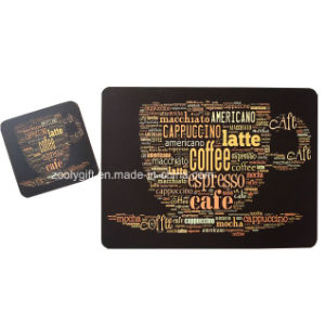Customized Printing Promotional Cork Cup Placemats and Coaster Set pictures & photos