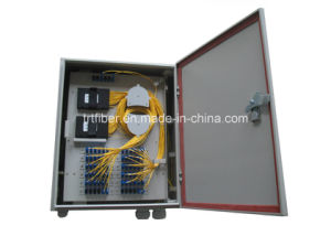 Outdoor Waterproof Plastic Fiber Optic Distribution Box for PLC Splitter pictures & photos