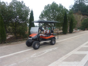 250 Cc Gasoline Power Golf Cart with Four Seats pictures & photos