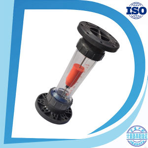 Vertical Plastic Tube Gravitys Flanged Water Flow Meter pictures & photos