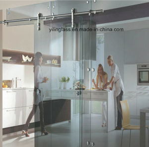 Hung Sliding Tempered Glass Door pictures & photos