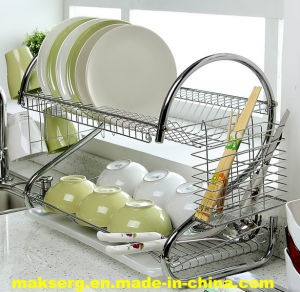 Metal Wire Dish Rack China Dish Rack Shelf Factory Manufacturer OEM ODM pictures & photos