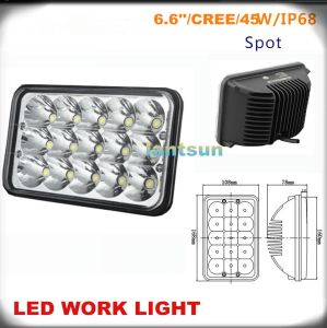 45W LED Work Light for Jeep Offroad 4X4 Truck pictures & photos