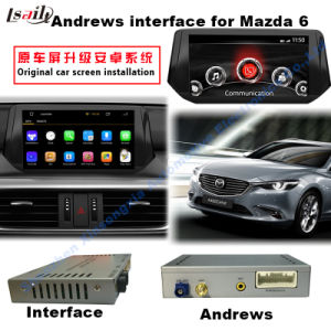 HD Car Android Multimedia Video Interface GPS Navigation Box for 2014-2016 Mazda6 Support Bt/WiFi/Mirrorlink pictures & photos