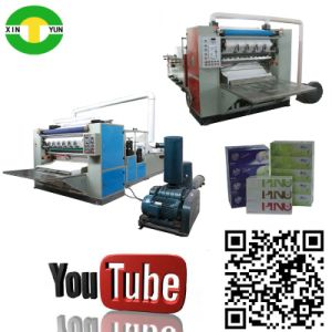 High Speed Auto Folding Tissue Facial Paper Production Line pictures & photos
